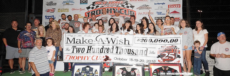 Make A Wish Race Donation Check