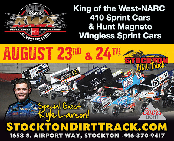 Stockton Dirt King of the West Aug 23