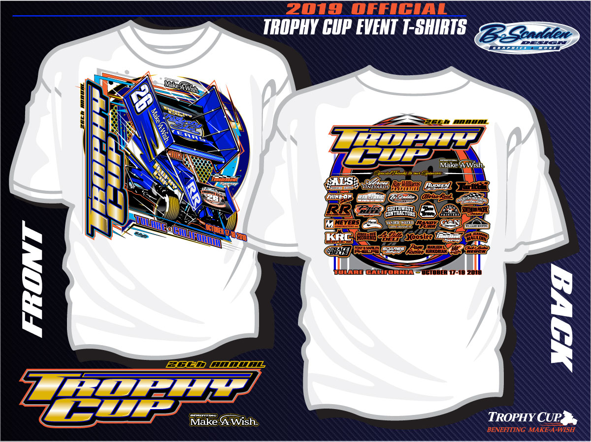 2019 Trophy Cup T Shirts